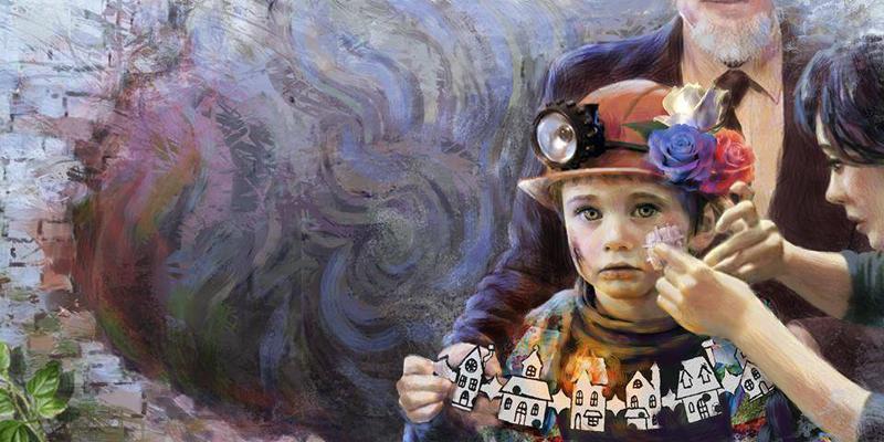 Рисунок юной донецкой художницы Ани Казанцевой.