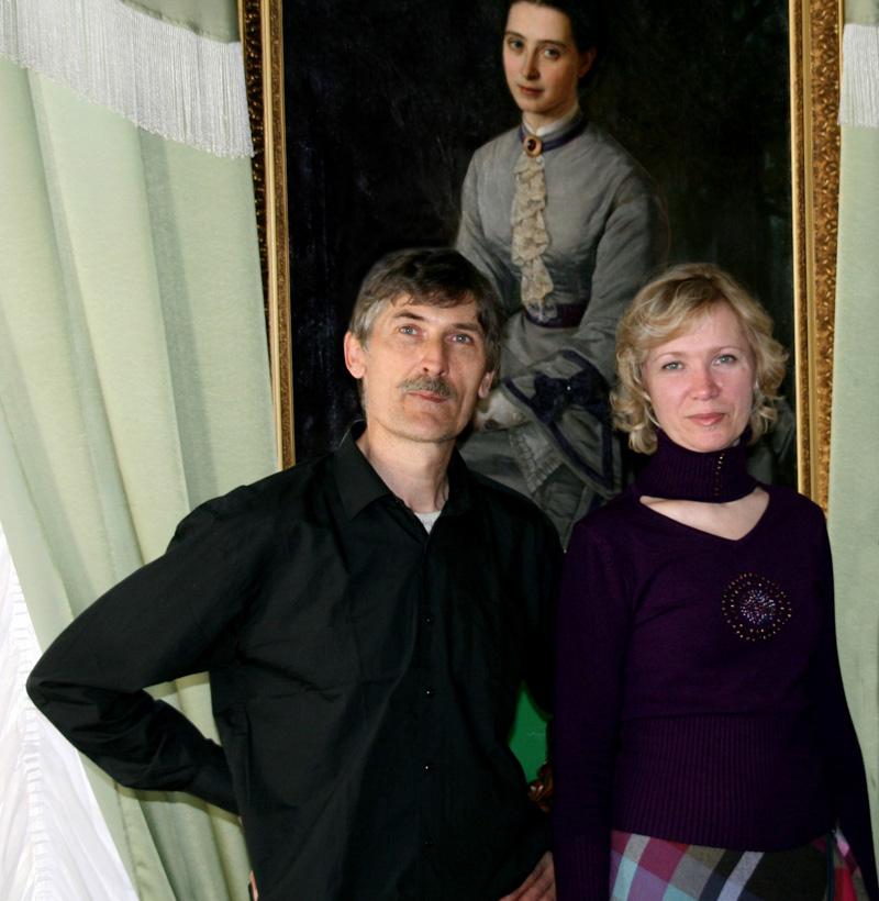 Стас и Ольга Волостных