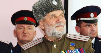 Владимир Пантелеймонович Векленко – атаман Тамбовского отдельского казачьего общества