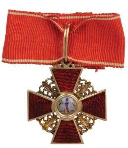Орден Святой Анны третьей степени