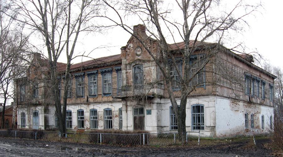 Здание бывшей Свято-Ольгинской школы