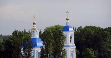 РЕМОНТ В СКОРБЯЩЕНСКОМ ХРАМЕ