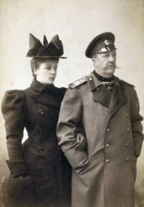 Граф И. И. Воронцов-Дашков с дочерью