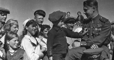Герой Советского Союза гвардии майор Николай Пинчук