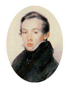 Портрет композитора А. Н. Верстовского. П. В. Соколов, XIX век, первая половина
