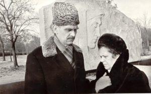 Ким Иванцов с сестрой Ниной Иванцовой. Краснодон, 1978 г.