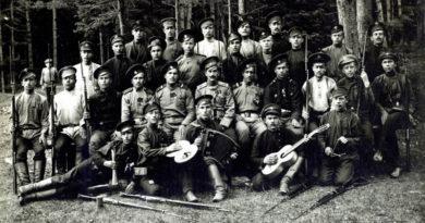 Ополченцы 209-го пехотного Богородского полка