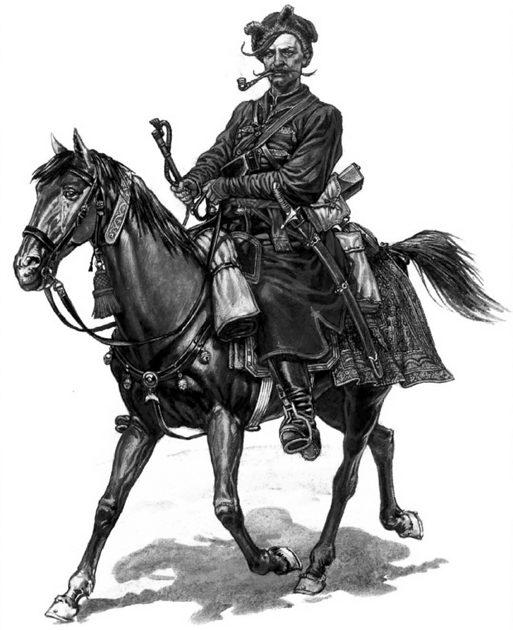 Реестровый казак конной сотни