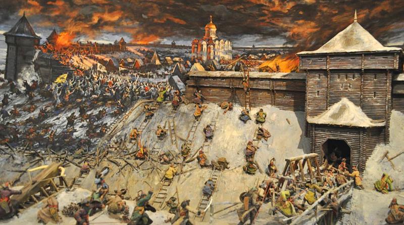 Диорама «Оборона Старой Рязани в 1237 г.»