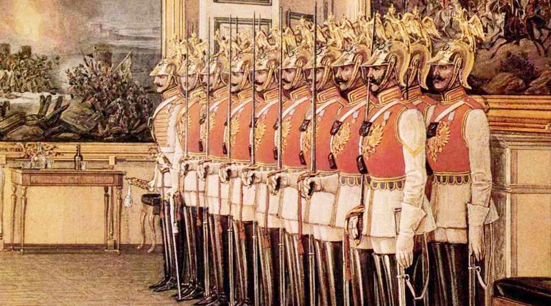Лейб-гвардии кавалергардский Его величества полк, униформа